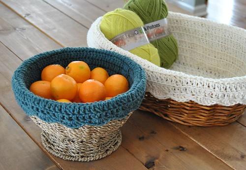 crochet basket liners