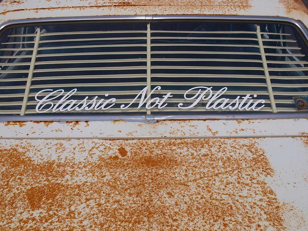 Classic Not Plastic