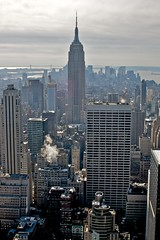 In the center of it all... (J. Moore Photography) Tags: new york city newyorkcity skyscraper nikon manhattan ngc icon historic empirestatebuilding nationalgeographic d90 supershot