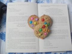 14/365 (ca.louise) Tags: cookies book livro 365 ameninaqueroubavalivros