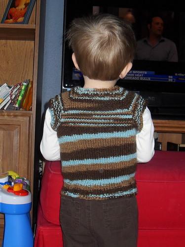 Benjamin's t-shirt vest