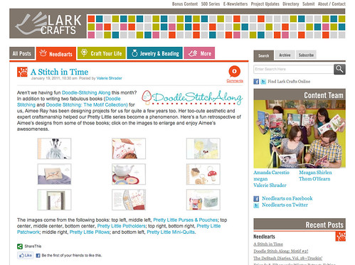 lark blog feature
