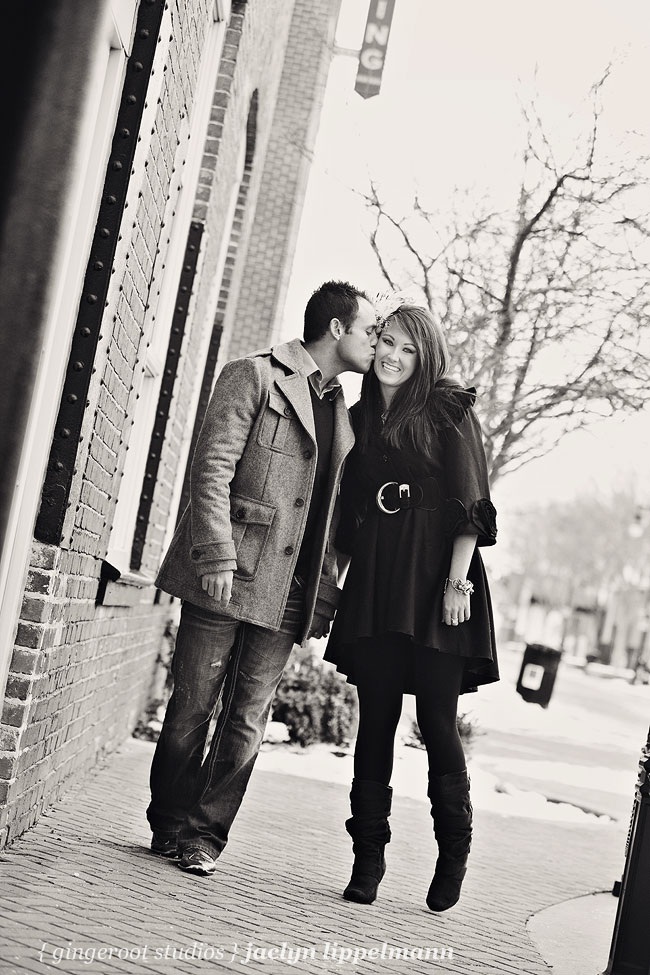Wichita, Kansas engagement photos