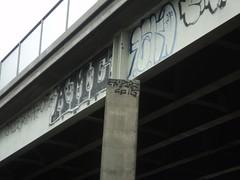 EMPIRE OTR HSO RANE AMC 238 FREEWAY SPOT (madsebarkzingh) Tags: graffiti oakland bay san francisco graf bart east freeway empire area hayward piece bomb bombing throwups throwup empier