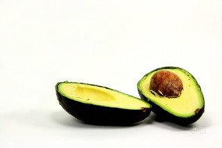 Avocado on White - Project Flickr: Food