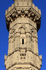 for a thousand years of stone architecture...and for a thousand more [original] (ahmed yahia enab) Tags: building art history monument stone architecture worship minaret islam details faith religion egypt engineering cairo ornament sultan  muqarnas    aldin       sayf    inal       alashraf     alzahry