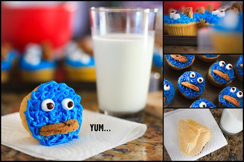 Cookie Monster.