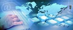 business et internet (patriziasoliani) Tags: france main internet business monde connection clavier ordinateur connexion informatique bannière arrièrepla