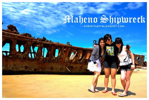 Fraser Island: Maheno Shipwreck on 75-Mile Beach