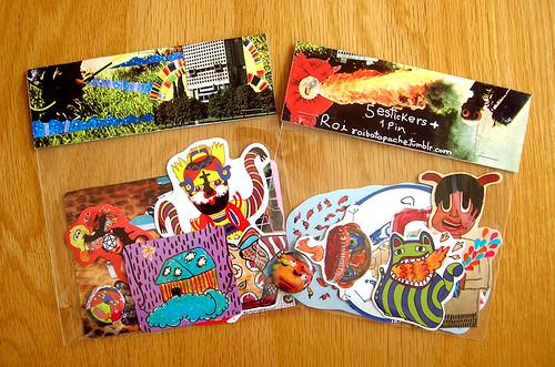 new sticker packs by roi!