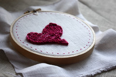 In progress:  valentine's day (phydeaux designs) Tags: heart magenta valentine embroidered valentinesday embroideryhoop darkrose phydeaux handmadehandcrafted phydeauxdesigns knittingknitknitted