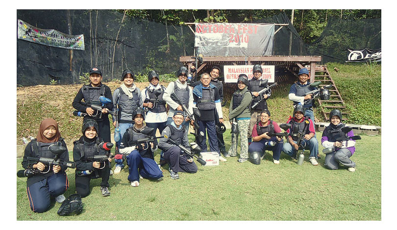 Paintball With Officemates