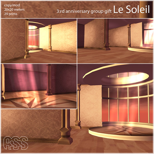 Le Soleil - Group gift skybox - A:S:S 3:rd anniversary