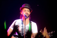 Atif Aslam (right hand turn.) Tags: sportscentre sydneyaustralia fanphoto atifaslam 2011tour
