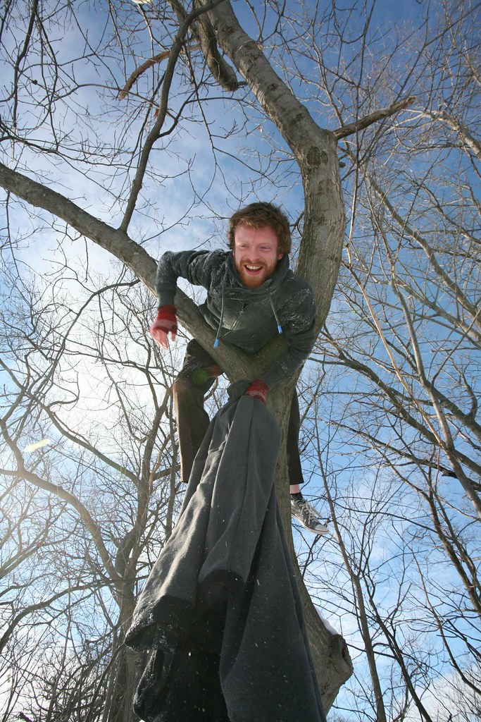 Vincent up-a-tree outtake