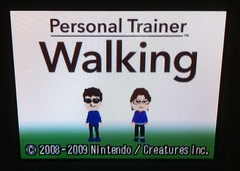 personal trainer walking (nintendo ds)