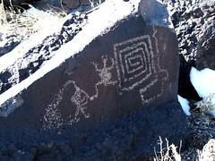 Kokopelli 0367 (glyphwalker) Tags: newmexico indian kokopelli rockart petroglyphs fluteplayer