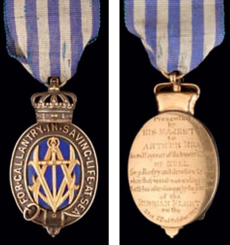 Albert medal in Gold
