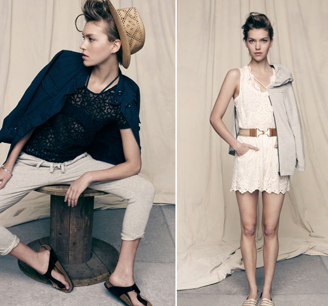 ARIZONA MUSE in MADEWELL SUMMER 2011