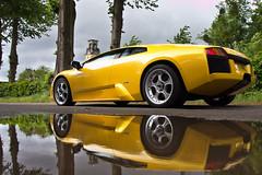 Giallo (Alex Penfold) Tags: auto camera reflection cars alex sports car sport yellow mobile canon photography eos photo c