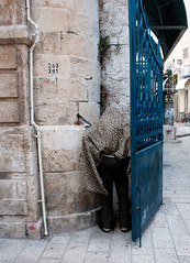 (Gordon Detels) Tags: man jerusalem peeing