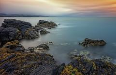 Follow the Light (Perkvats Havatkov) Tags: le longexposure coast shore sea light clouds eosm