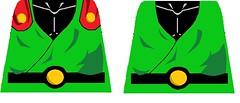 saiyaman & gohan buu saga decals (teamfourstud) Tags: great saiyaman dragon ball z dbz dragonball dragonballz saiyan gohan ssj super buu saga lego custom decal decals