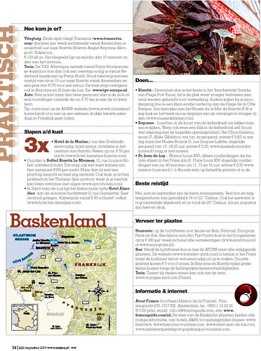 French Basque for ANWB REIZEN - Page 7