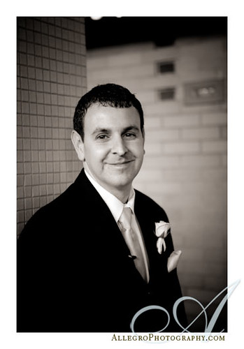 downtown-hyatt-boston-wedding- groom portrait at church in norwood massachusetts