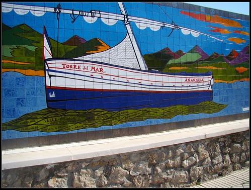 Mosaico pueblo de la Axarquía
