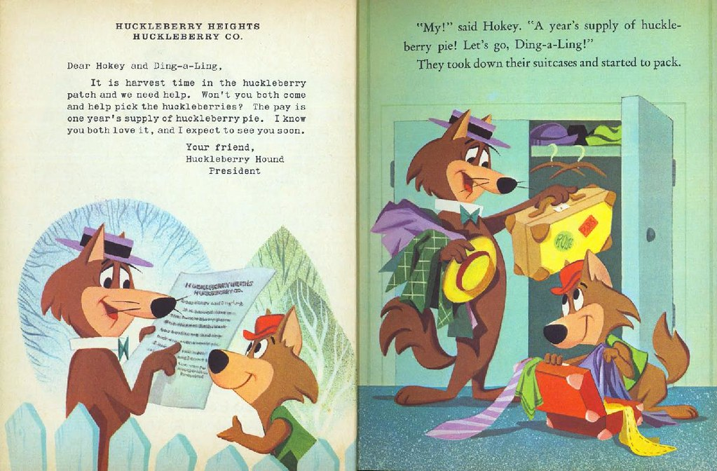 Hokey Wolf & Ding-a-Ling Featuring Huckleberry Hound004