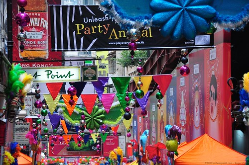 蘭桂坊 - Lan Kwai Fong - Unleash your party animal!