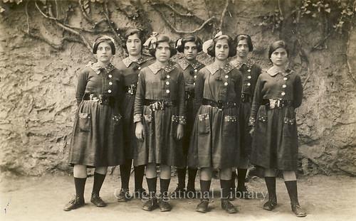 Girls in Corinth, Greece.