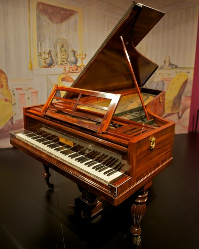 Piano from the Chopin Exhibit