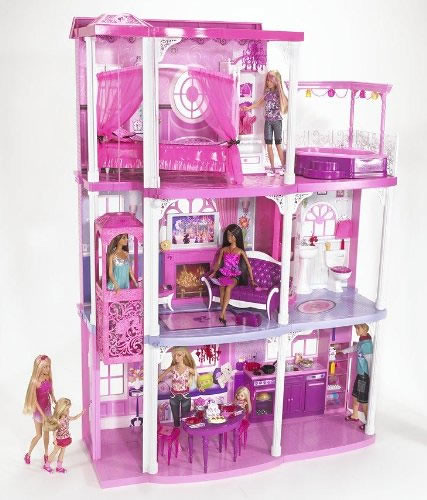 barbie-dream-town-house