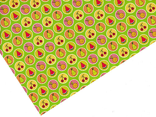 Cutie Fruity Friends Gift Wrap