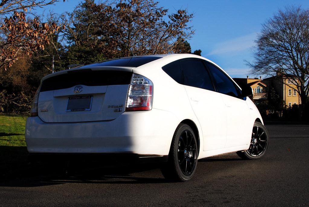 Pimping The Prius Mkruzeniski Tags Black Wheels Tires Prius Toyota Stormtrooper Rims Pimped