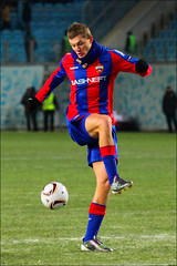 Tomas Necid, CSKA vs Lausanne (Kate_Lokteva) Tags: sports football action russia moscow soccer lausanne ru 2010 sportsphotography cska   moscowregion  khimki  fclausanne 5round 5tour  europaleague  pfccska arenakhimki arenakhimkistadium   europaleaguecup