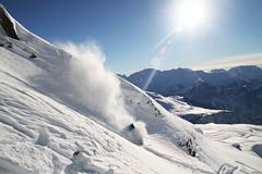 Grosse peuf Alpe d'huez (JordanPerrin) Tags: winter sky mountain snow france mountains alps montagne alpes hiver powder neige huez
