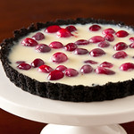 Project Black and White Cranberry Tarts