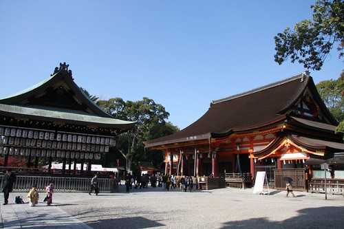 八坂さんの風景(秋) / Yasaka Shrine