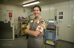 Reservist Medical Officer at Camp Bastion Hospital in Afghanistan