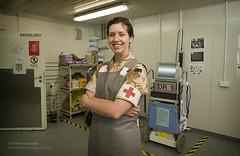 Reservist Medical Officer at Camp Bastion Hospital in Afghanistan
