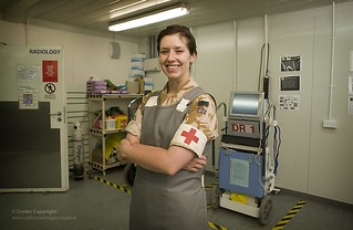 Reservist Medical Officer at Camp Bastion Hosp...