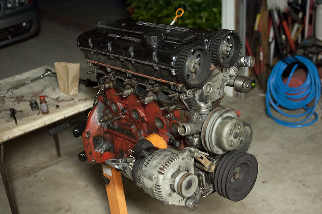 Volvo Head bolted on