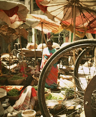 wheels (hanna.bi) Tags: india market may udaipur rajahstan 2010 hannabi