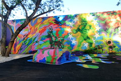 ron english (Luna Park) Tags: streetart graffiti florida miami deer lunapark fl camoflauge ronenglish wynwoodwalls