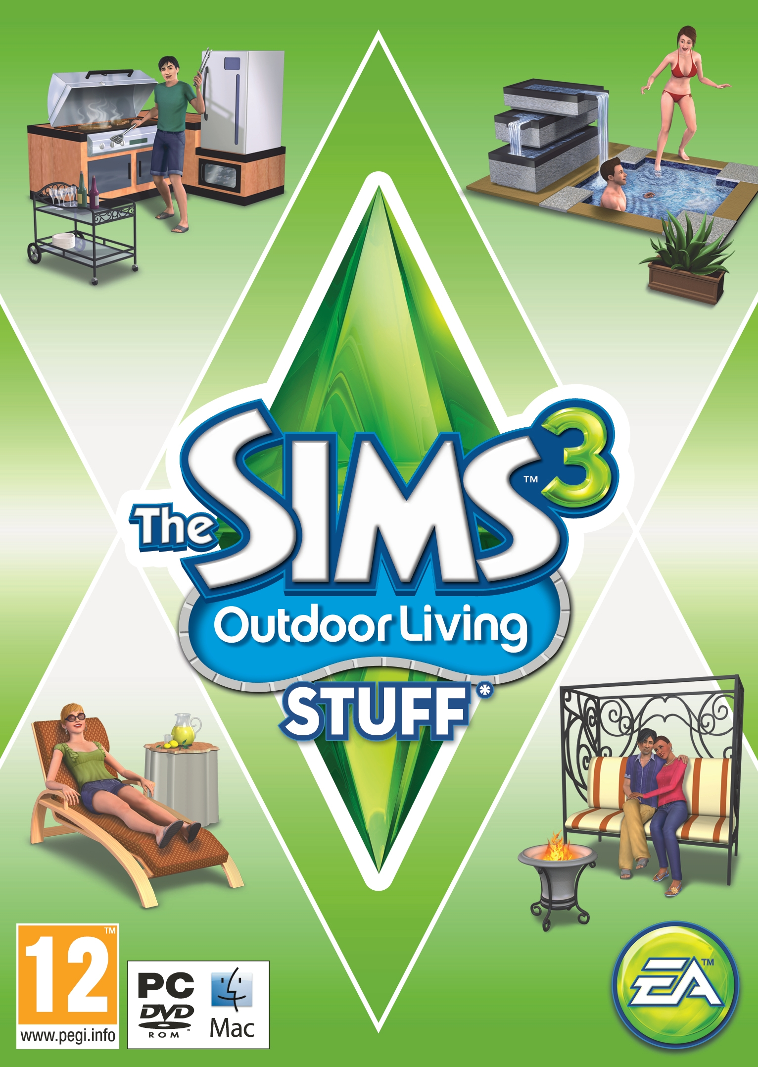 EA announces The Sims 3: Outdoor Living Stuff Pack! — The Sims Forums