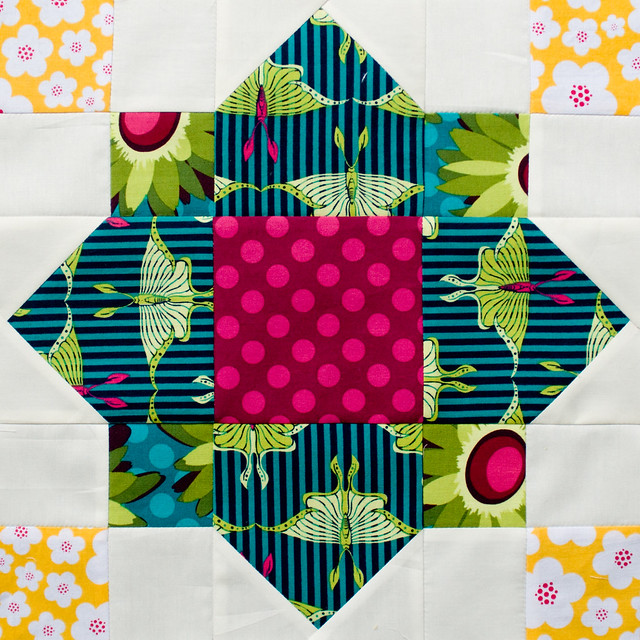 Bee Block for Rebecca