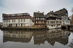Strasbourg (Mikheil Samkharadze (kesha)) Tags: houses france reflection water strasbourg kesha mikheil anarekli strasburgi samkharadze safrangeti